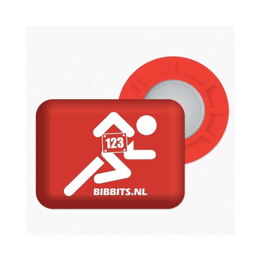 Magnesy BibBits - flaga Polski