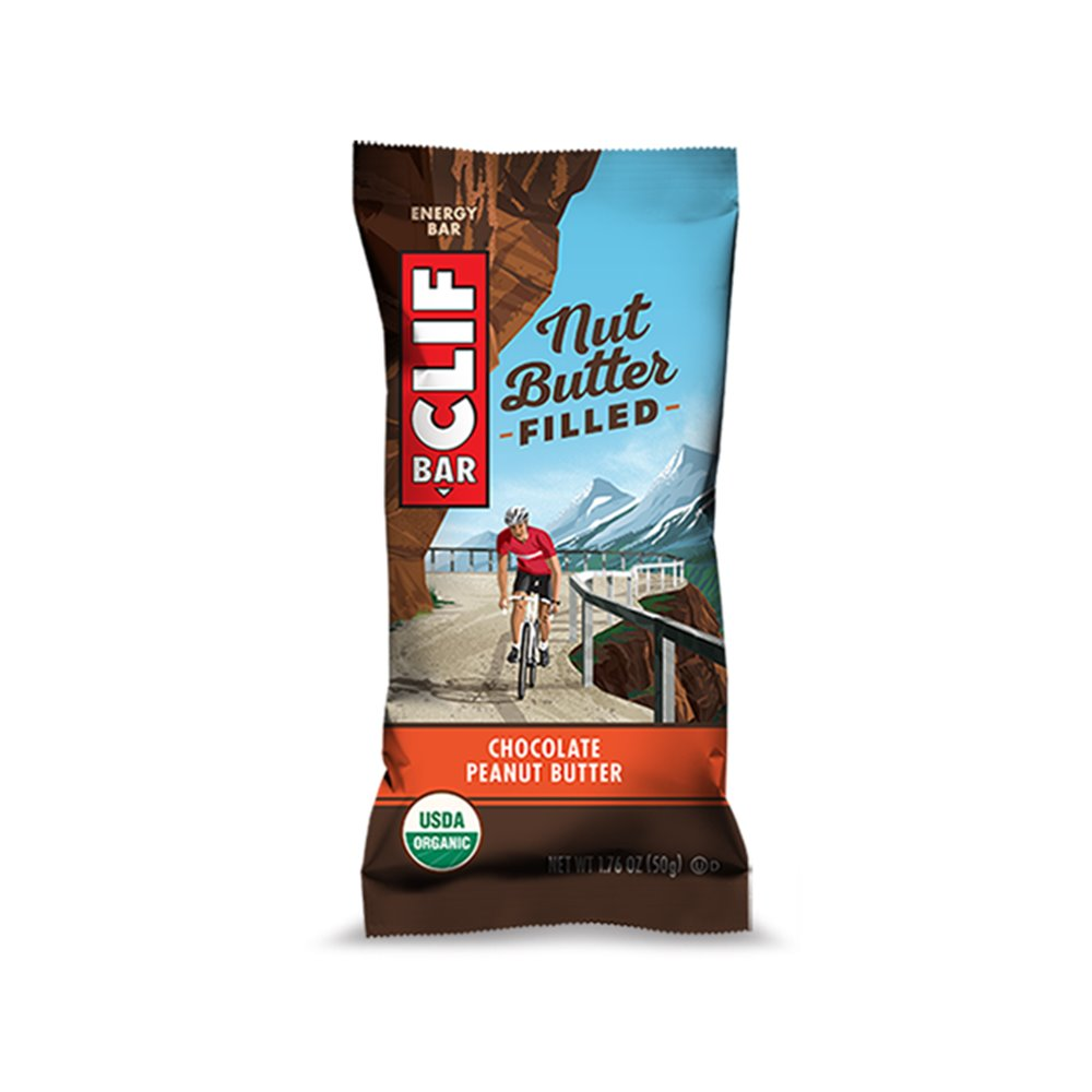 Clif Bar Nut Butter Filled Chocolate Peanut Butter baton energetyczny 50 g